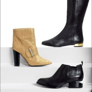 Gold See By Chloes Booties
